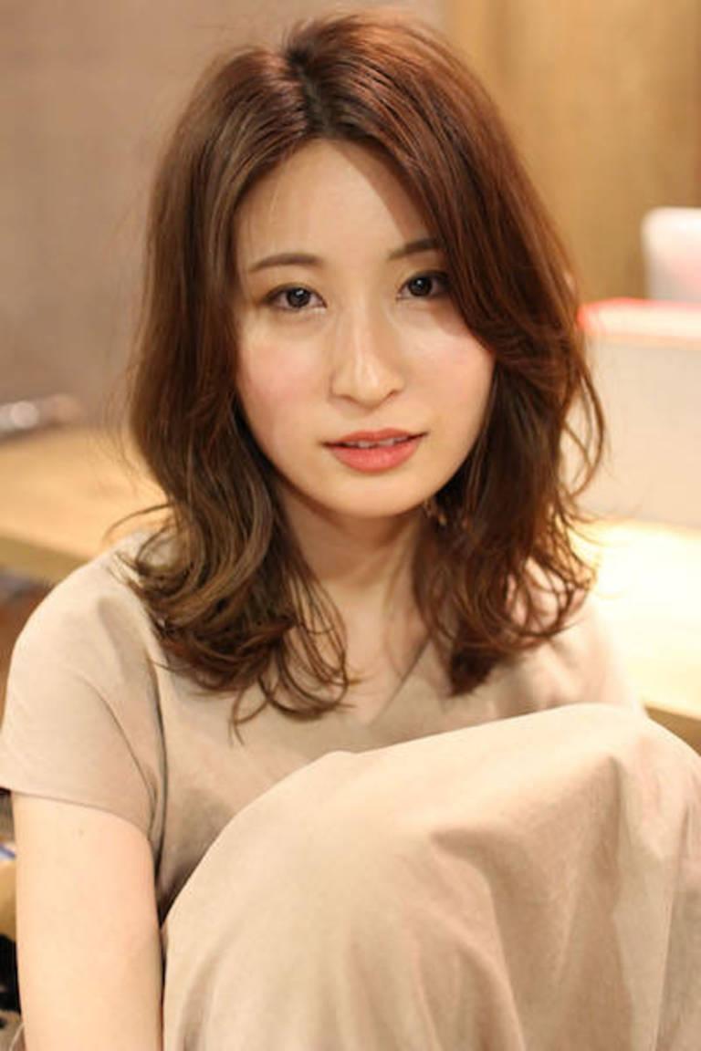 艶髪ショコラブラウン